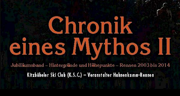 "The new book is here - ""Chronicle of a Myth II"""