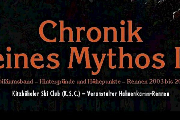 """The new book is here - """"Chronicle of a Myth II"""""""
