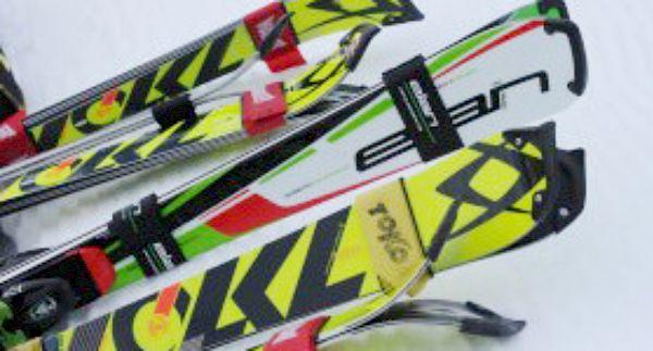 Skifahren auf der Streif