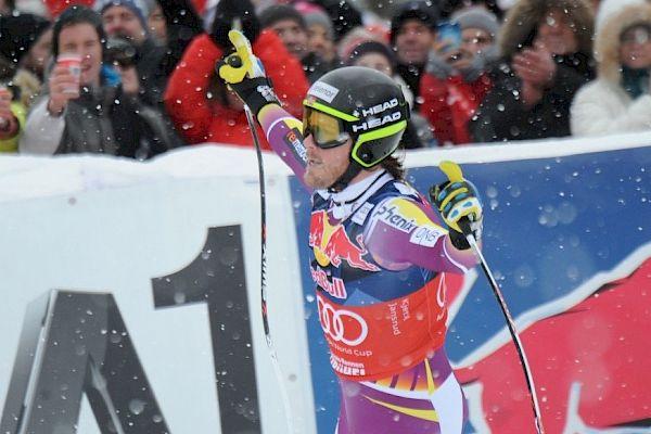 Jansrud won the Combined, Svindal won the Downhill