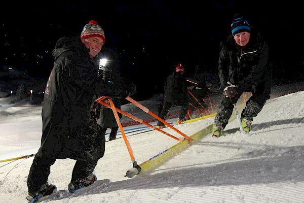 Ganslernhang: Der Klassiker ist für die Slalomartisten bereit