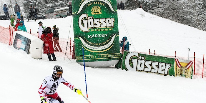 Gösser Enriches the Hahnenkamm Races
