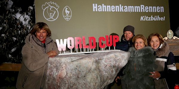 Unveiling of the World Cup Memorial