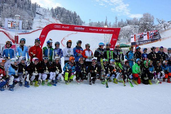 Austria wins the Junior-Race