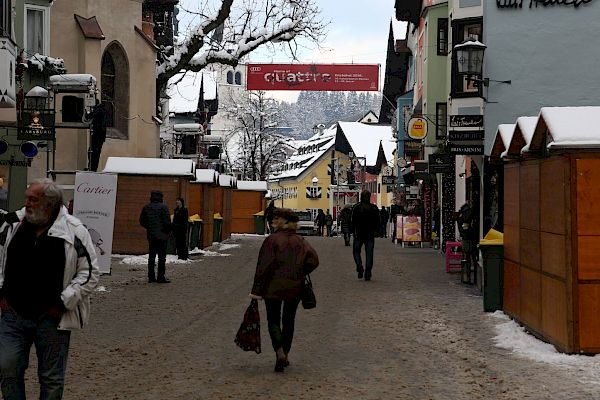 Improved Hahnenkamm Fan-Zone