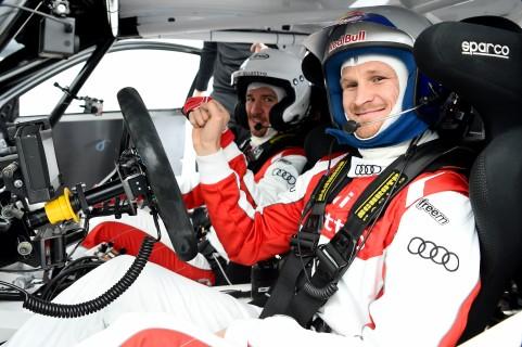 Felix Neureuther (D), Tadeusz Blaszusiak (PL), Audi S1 EKS RX quattro
