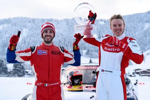 Andrea Dovizioso (I), Henrik Kristoffersen (N)