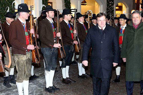Tirol Hosted a Reception
