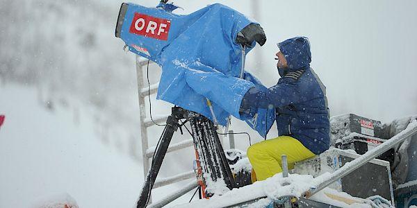 Over 120 hours live TV coverage from Kitzbühel
