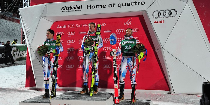 Pinturault wins the Hahnenkamm Combined