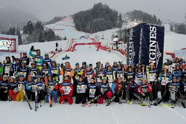 KitzCharityTrophy: celebrities on the slalom slope