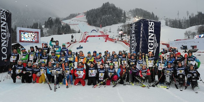 KitzCharityTrophy: celebrities on the slalom slope