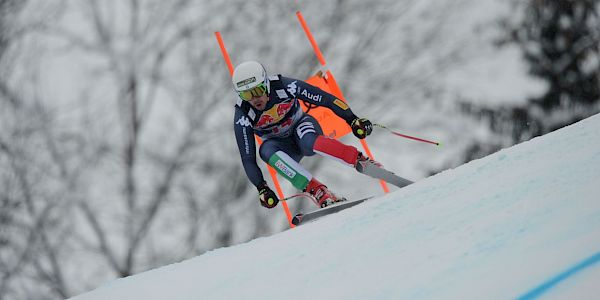 Fill wins the Hahnenkamm Downhill
