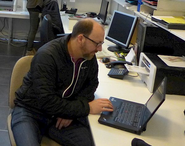 Peter Huber - Chef Büros