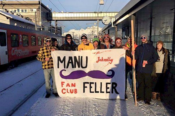 Manuel-Feller-Fans bereit