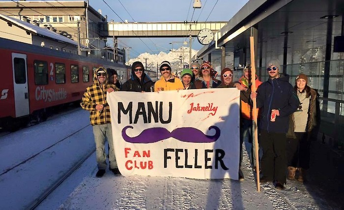 Manuel Feller fans are ready
