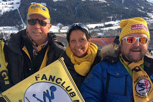 Fans pilgern zum Ganslernhang