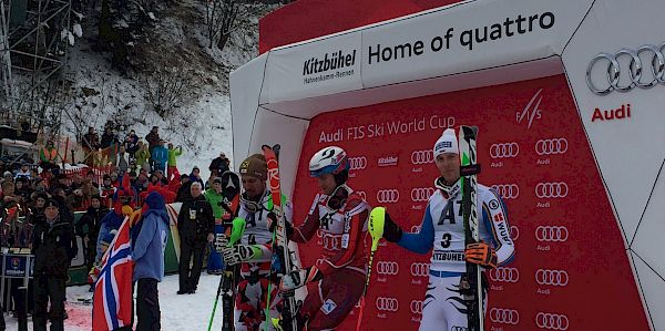 Kristoffersen wins Slalom