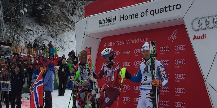 Kristoffersen wins Slalom