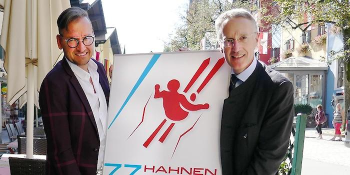 Hahnenkamm-Plakat 2017 präsentiert