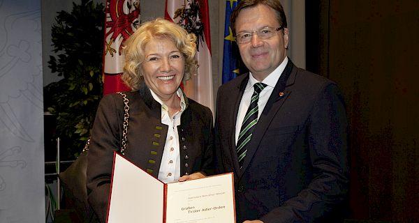 Adler-Orden für Hanni Weirather-Wenzel