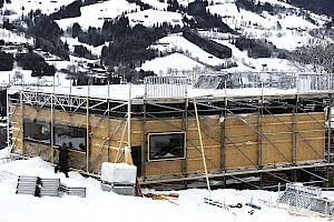 News on stadium construction and piste preparation