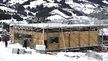 Aktuelles zum Stadionaufbau und den Streckenarbeiten