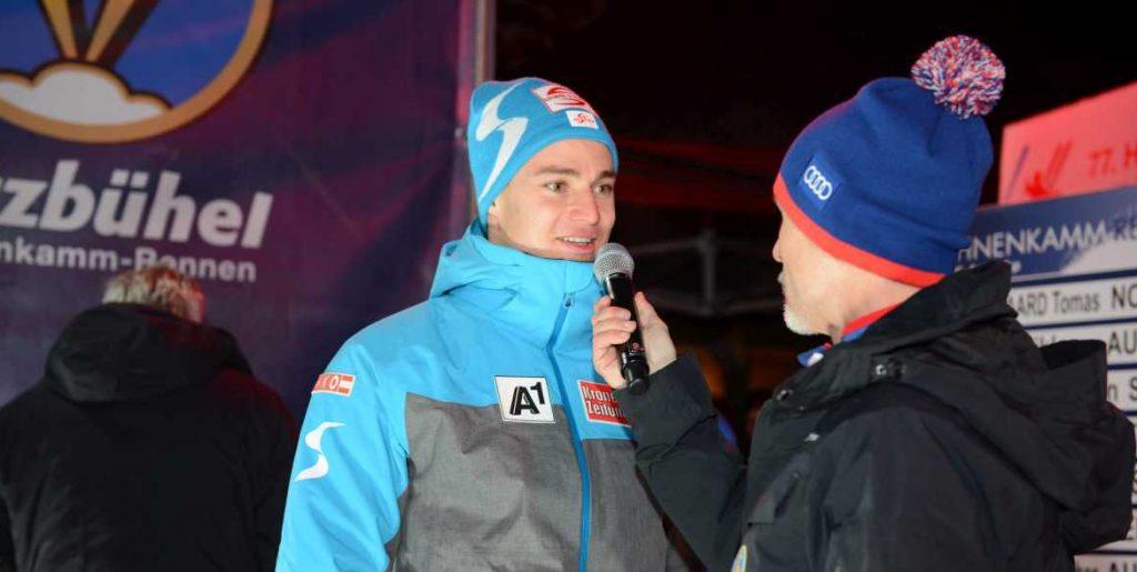 Christoph Krenn (AUT) wählte Startnummer 18