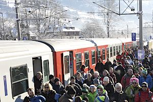 By train, bus or car - all roads lead to the Hahnenkamm Races