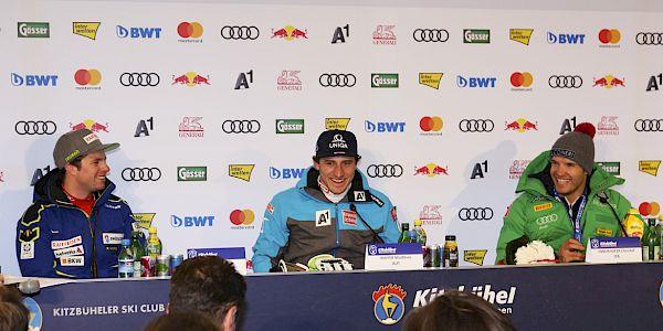 Super-G Pressekonferenz