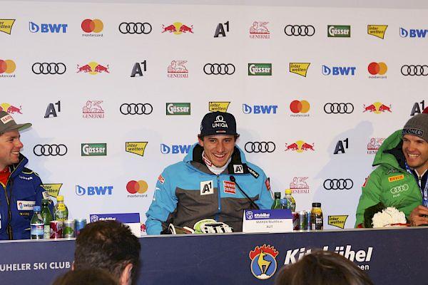 Super-G Press Conference
