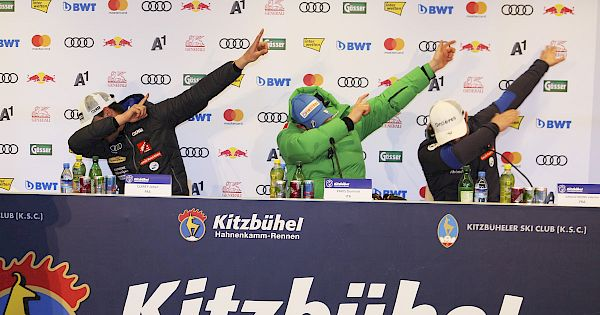 Tones from the Downhill press conference