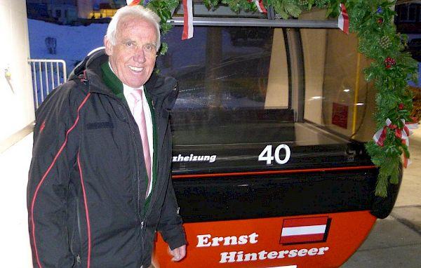 Ernst Hinterseer feiert seinen 85er