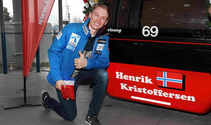 Ein grosser Tag für Henrik Kristoffersen