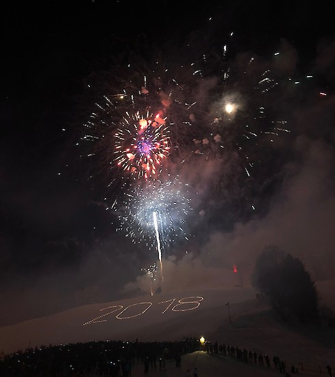 A real crowd-puller - Kitzbühel New Year's fireworks