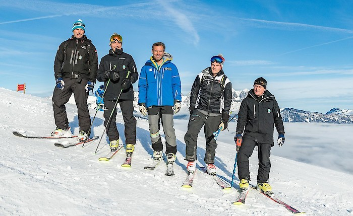 Von links: Tom Voithofer, Axel Naglich, Hannes Trinkl, Jan Überall, Herbert Hauser. Photo: AS Photography Stefan Adelsberger