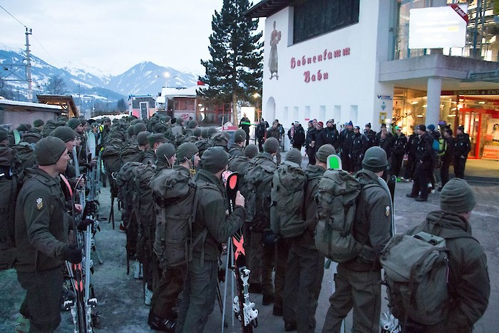Mission Hahnenkamm for the 23rd Hunting Infantry