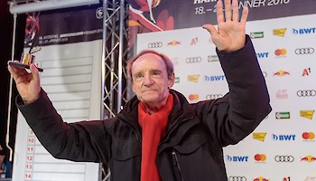 """Hahnenkamm - Legend of the World Cup Era""  - Jean-Claude Killy"