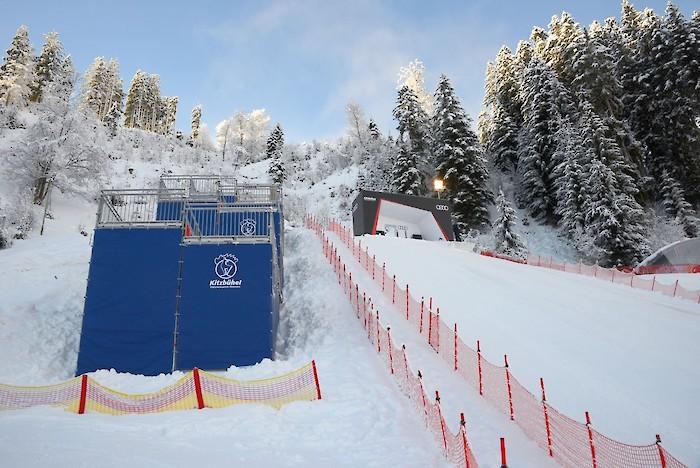Poleposition für das Slalom-Rennen