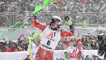Hirscher defeated, Kristoffersen wins the Slalom