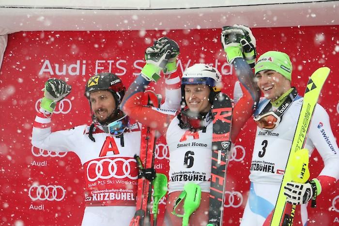 Hirscher geschlagen, Kristoffersen siegt im Slalom