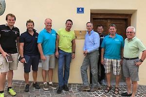 Vorab gab es eine gemeinsame Sitzung: Jan Überall, Rudi Lapper, Hatty Mück, Peter Gerdol, Michael Huber, Herbert Mandl, Lois Engl, Wilfried Leitzinger.