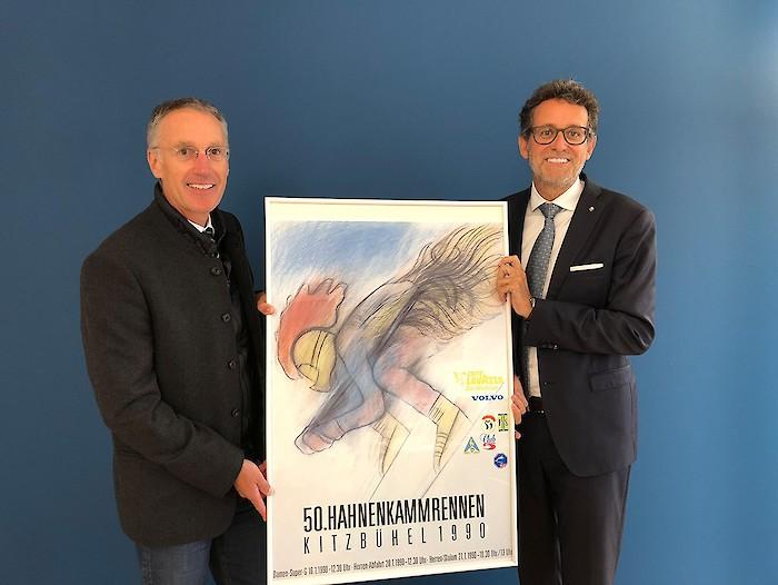 Hahnenkamm-Plakat 2020 gesucht - Zusammenarbeit stärkt