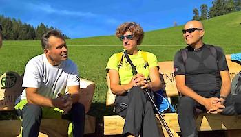 V.l.: Hannes Trinkl, Emanuel Couder, Markus Waldner
