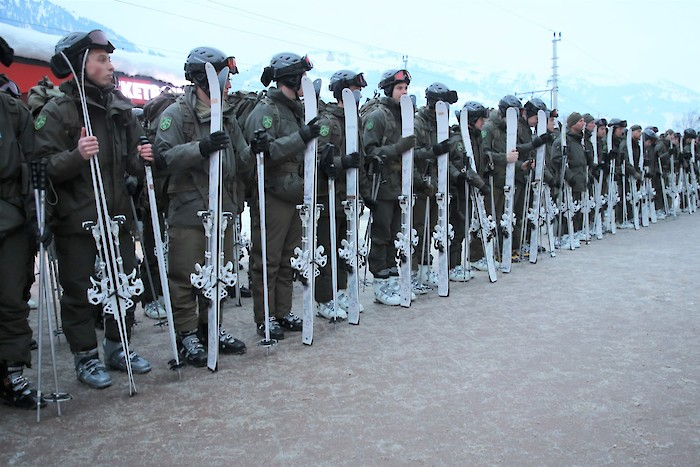 Austrian Armed Forces to support the Hahnenkamm Races again this year