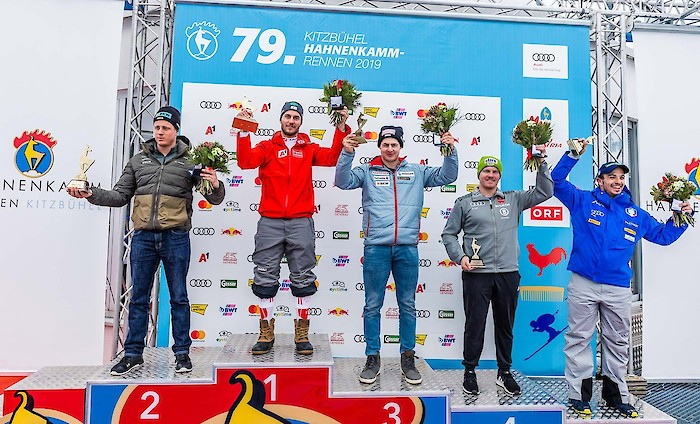 Europacup Downhill Prize-Giving Ceremony
