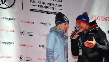 Parade of Nations - Longines Future Hahnenkamm Champions