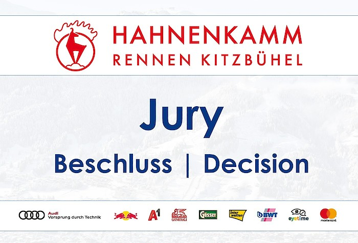 Programmänderung - Jurybeschluss
