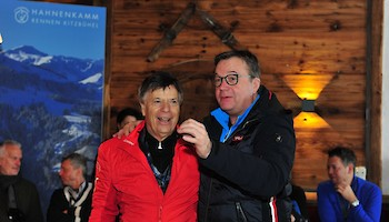 Hahnenkamm Reception