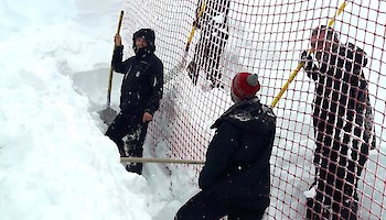 Verdienter Skitag des Netz-Teams